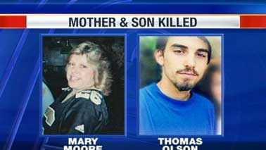 Mary Moore and Thomas Olson