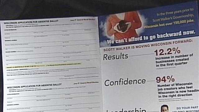 Third party mailings are leaving some to think cities are campaigning for certain candidates.