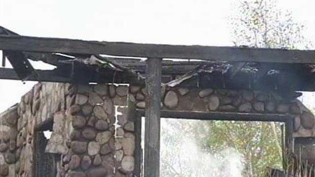 A lightning strike caused a fire that gutted Wisconsin Congressman Ron Kind's cabin.