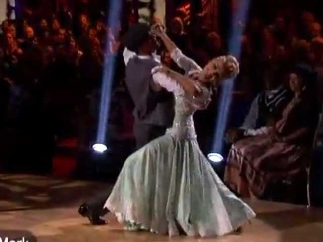 The judges loved her dance, but all pointed out one rare spot where she lost her balance.