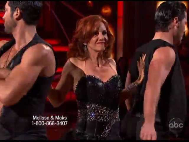 Melissa Gilbert was paired with the Chmerkovskiy brothers Maks and Val.