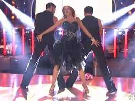 Their Argentine Tango won rave reviews from the judges.
