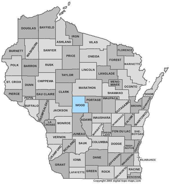 Wood County: 6.8 percent, down from 8.0 percent in March