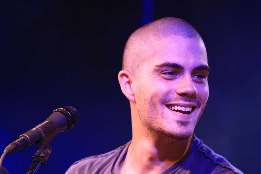 The Wanted band member Max George