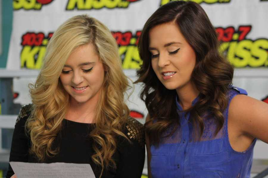 Megan and Liz recorded an anti-bullying message for Alverno College.