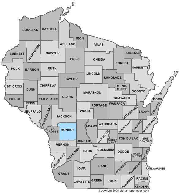 Monroe County: Population: 44,053. Median age: 38.3 years