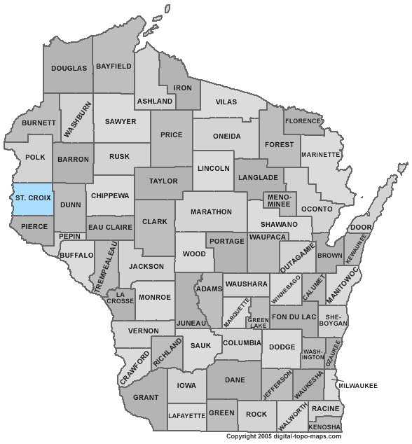 St. Croix County: Population: 82,636. Median age: 36.2 years