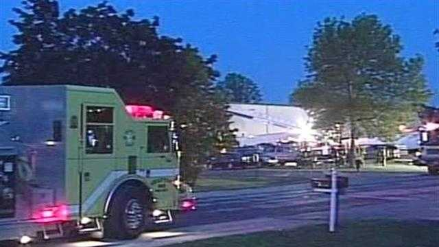 Cedarburg fire department called to Ataco Steel for a report of a fire.