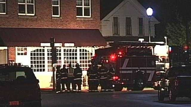 A fire in an apartment above the Moose Lodge in Saukville Sunday night has claimed the life of a man.