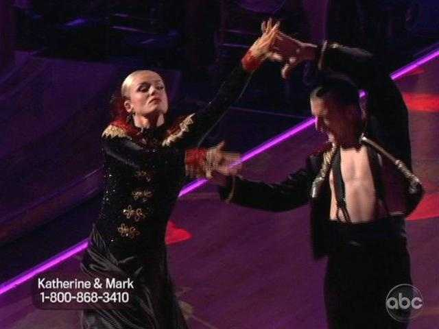 Their lines were very crisp and stunning. Carrie Ann said every move was perfectly executed.