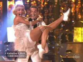 She and Mark Ballas then brought back the Roaring 20s with their freestyle.
