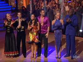 All three couples had to perform a dance chosen by the judges as well as a freestyle routine.