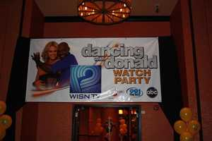 Hundreds gathered at Potawatomi Casino in Milwaukee to watch the finale of Dancing With The Stars.