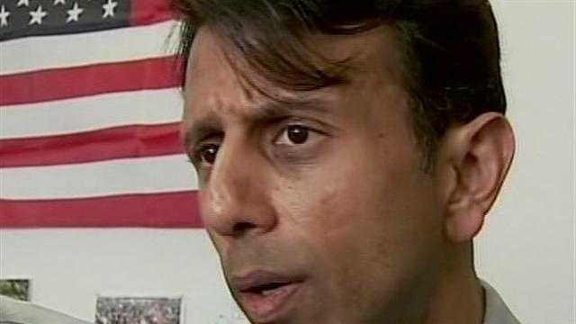 Louisiana Gov. Bobby Jindal says Wisconsin's recall election is being watched around the nation, but it ultimately comes down to whether Wisconsinites choose to retain their strong conservative leader.