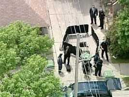 Milwaukee Police and the Milwaukee County Medical Examiner's Officer are investigating remains found in a sewer by city workers on Wednesday, May 30, 2012.