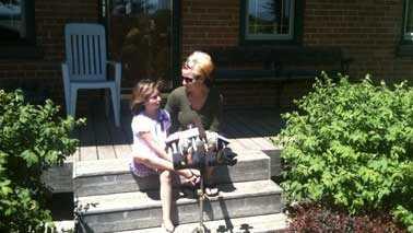 Aryanna and mom