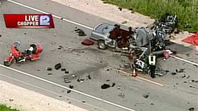 Highway 151 in Taycheedah is closed because of a fatal crash involving multiple motorcycles and a car.