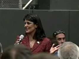 S.C. Gov. Nikki Haley