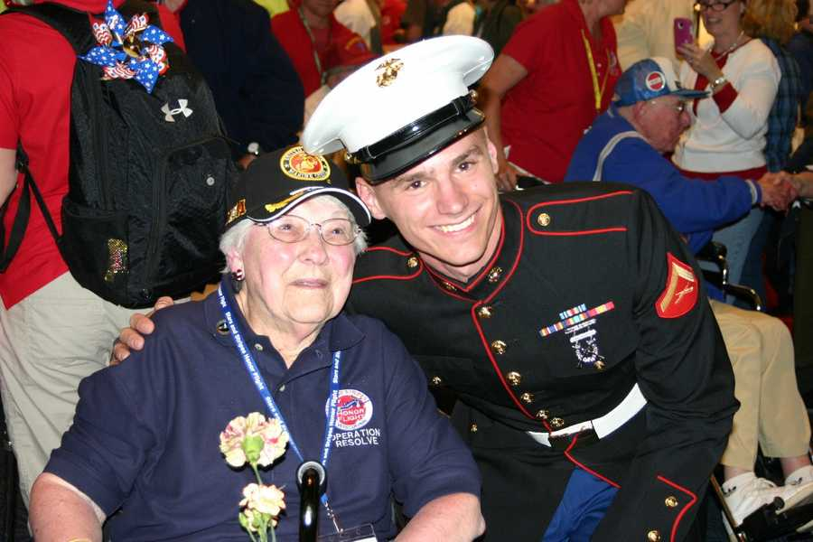 The public is welcome and encouraged at the homecoming celebrations to show their support for the heroes returning. The welcome home most did not receive when they returned from duty.
