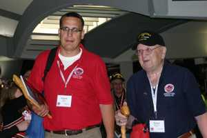 This was the 14th trip of WWII vets to depart from Milwaukee headed to Washington D.C. to see the memorial built in their honor.