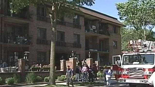 A man dies in a condominium fire in Whitefish Bay.