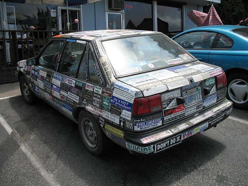 If you have a few too many stickers on your car, here are some ways to remove them:
