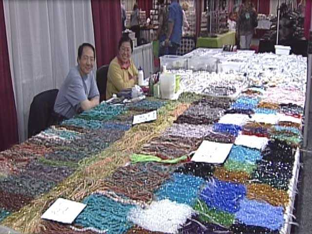 The annual Bead & Button show took place at the Frontier Airlines Center June 1-10.