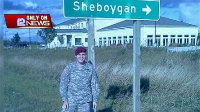 A mother in Sheboygan is waiting for an update on her Army son after he was injured in a roadside bombing in Afghanistan.