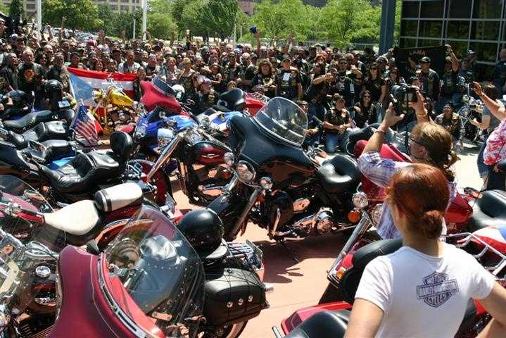 LAMA, widely recognized as the largest known Hispanic motorcycle club, is coordinating events all around the world to celebrate its 35th anniversary.