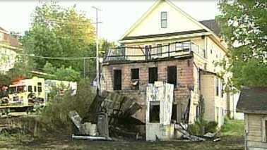 Fredonia house/garage fire