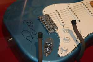 Phil Vassar signed guitar