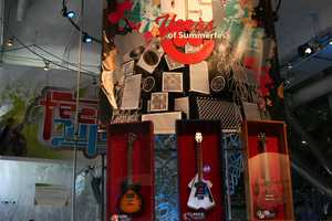 Discovery World's exhibit of artifacts from Summerfest's 45 years.