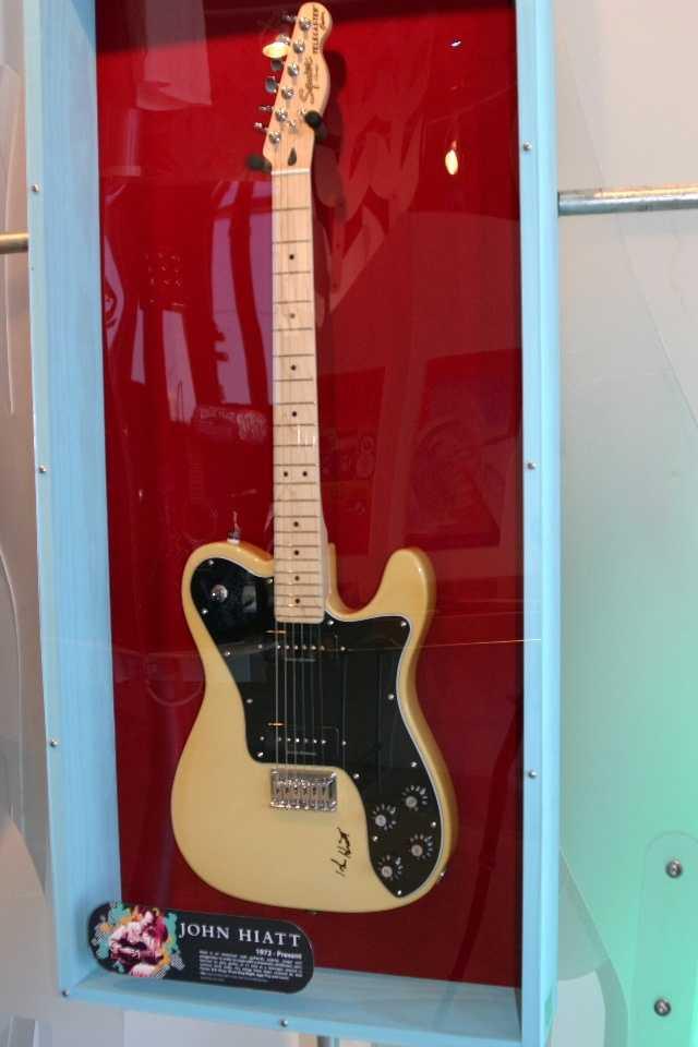 John Haitt signed guitar