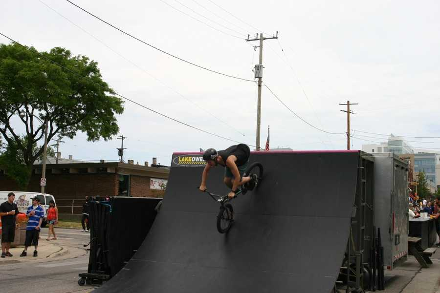 Our cameras caught up with them here at Summer Soulstice on Milwuakee's east side and at their training/practice facility.