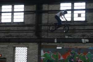 The riders practice/train/hang out at 4Seasons Skate Park in Milwaukee.