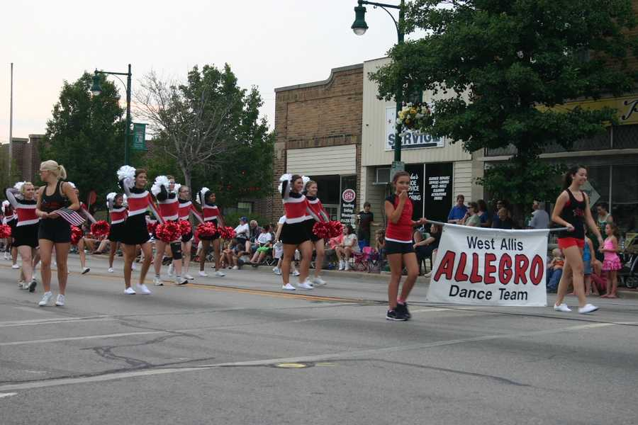 West Allis Allegro Dance Team