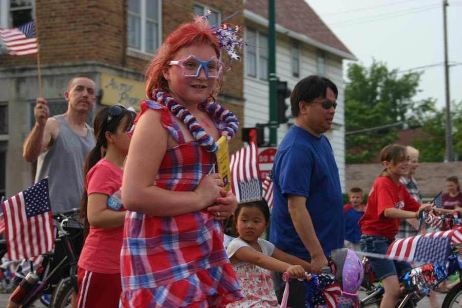 Day one of three days of Independence Day celebration in West Allis started included a parade.