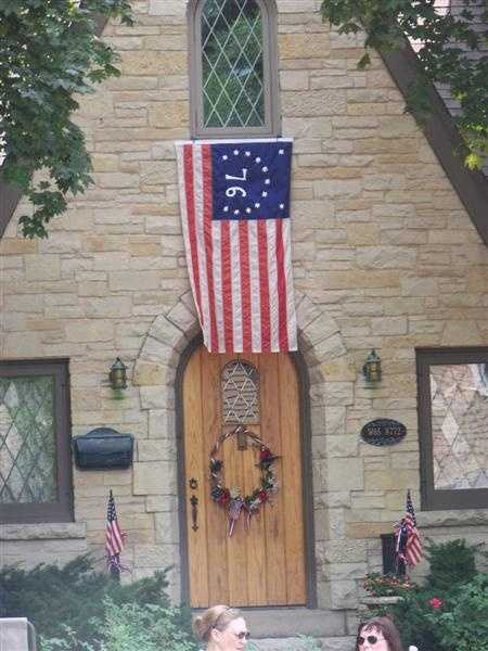 The Village of Cedarburg held their Independence Day parade at 10 a.m. on July 4, 2012.