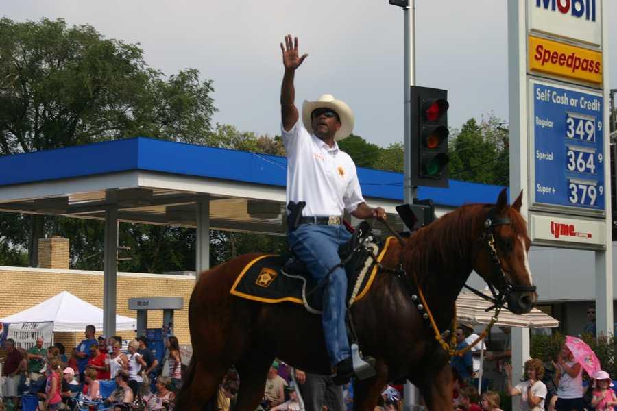 Milwaukee County Sheriff- David Clarke