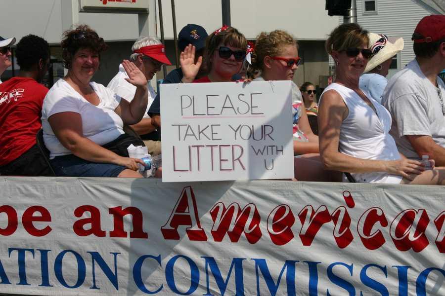 Very good advice, help keep the city clean.