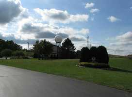 Sullivan - Home of the National Weather Service office for southeast Wisconsin. It recorded a high temperature of 106 on July 5, tying its hottest temperature ever.