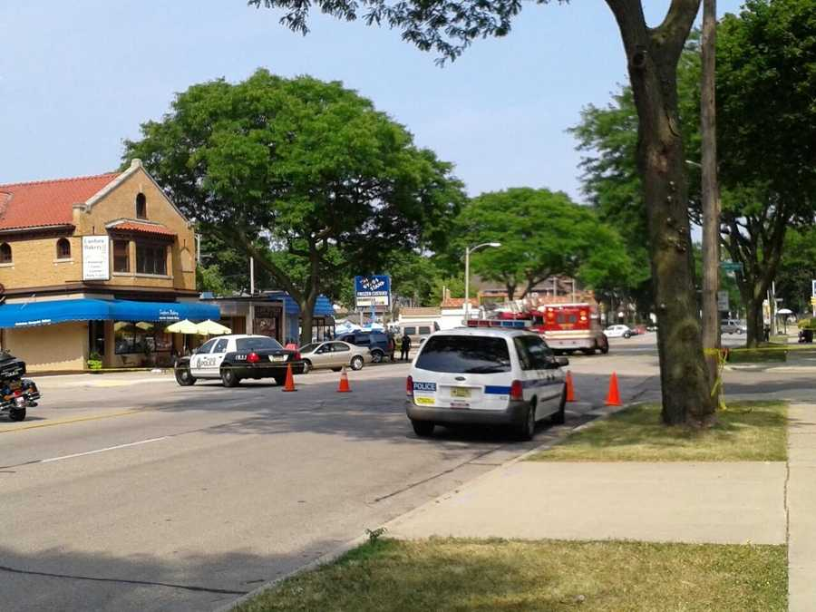 Milwaukee Police confirmed one person has died in a 3-vehicle crash near E. Oklahoma Ave. and S. Herman St. in Bay View.
