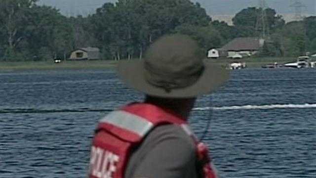Search crews have taken to the water in Wind Lake in search of a West Allis man who went missing while swimming on Saturday.