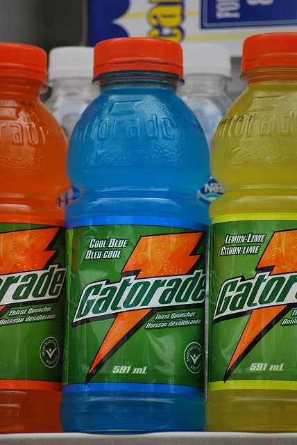 Gatorade was formulated in 1965 by researchers at the University of Florida College of Medicine and was named after the school mascot