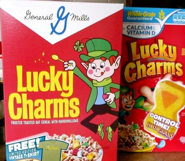Cheerios and Circus Peanuts Candy may not sound appealing, but that's the combination that inspired Lucky Charms.