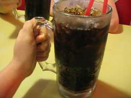 Root beer is made by using the root of a sassafras plant.