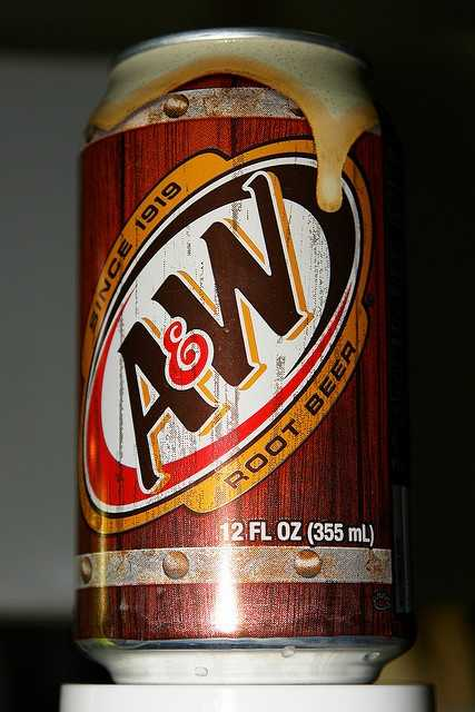 A&W Root Beer is named afters its 1919 founders, Roy Allen and Frank Wright.