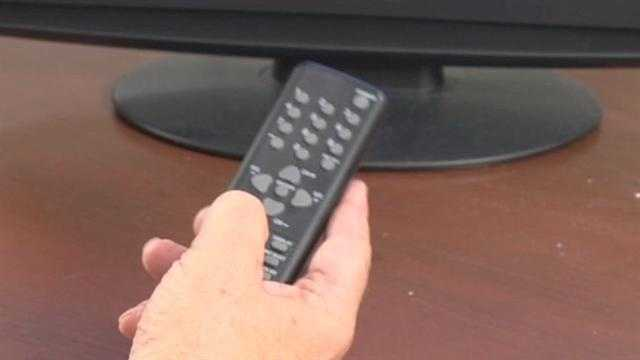 "Now you can turn your TV on and click the ""menu"" button on your TV remote."