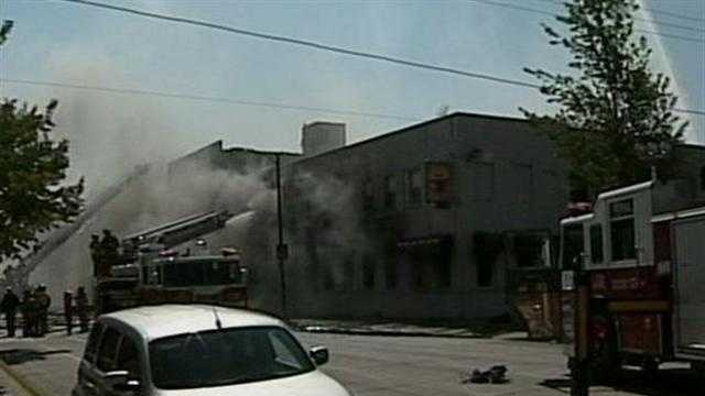 911 calls released for the 5-alarm fire on Center street in Milwaukee.