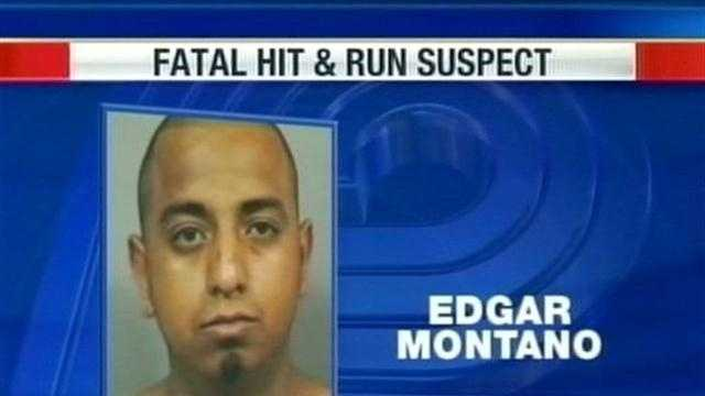 Edgar Montano was charged on July 23 in Waukesha County with homicide by negligent operation of a vehicle, hit-and-run involving death and hit-and-run.
